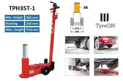 TyreON TPH35T-1 lucht hydraulische krik