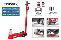 TyreON TPH50T-3 lucht hydraulische krik