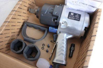 TyreON 1450 Nm slagmoersleutel Twin Hammer verpakking