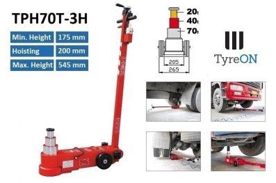 TyreON TPH70T-3H lucht hydraulische krik